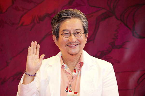 Go Nagai (photo by Okki from Wikipedia)