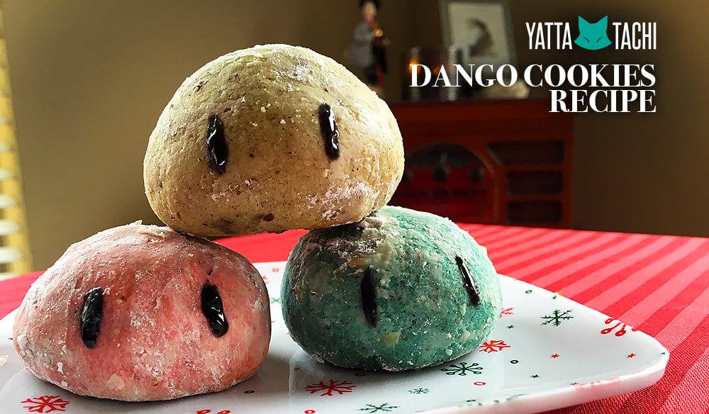Yatta-Tachi Noms: Clannad Dango Cookies