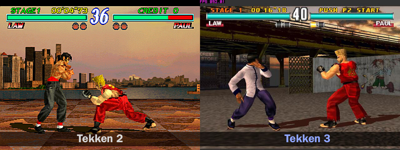 Tbt Tekken 3 Jin Kazama Tekken S Turning Point Yatta Tachi