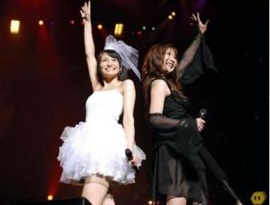 Megumi Nakajima and May'n