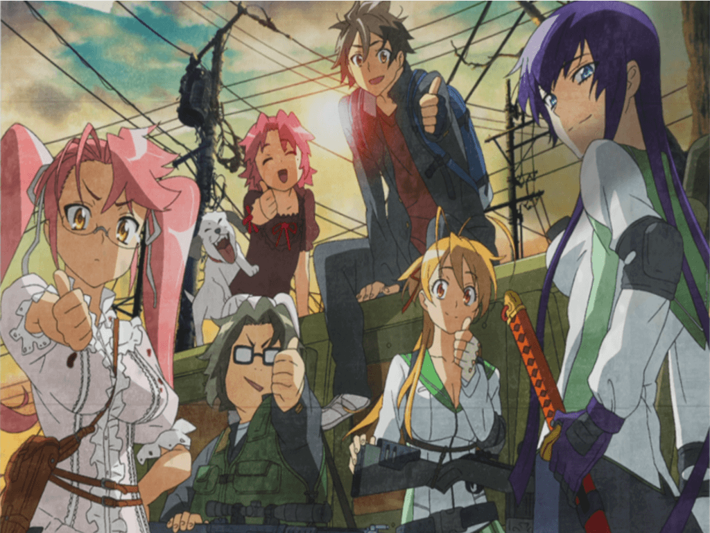 Highschool of the Dead is more than fan service - A complex group of characters is one of the strongest points of the series