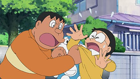 Gian, a famous bully from Doraemon