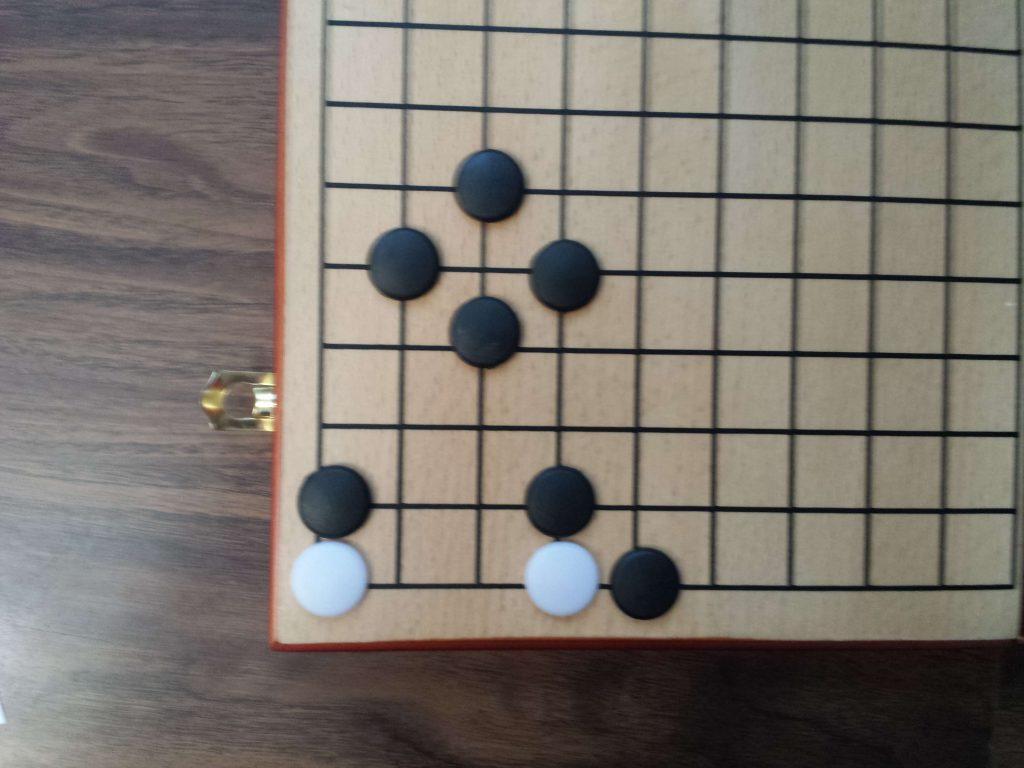 Zeke's Board Game Revue - Go (Go Pieces Captured)