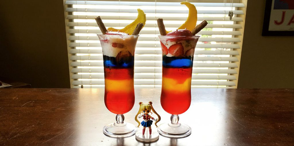 Yatta-Tachi Noms: Sailor Moon Parfait Finished