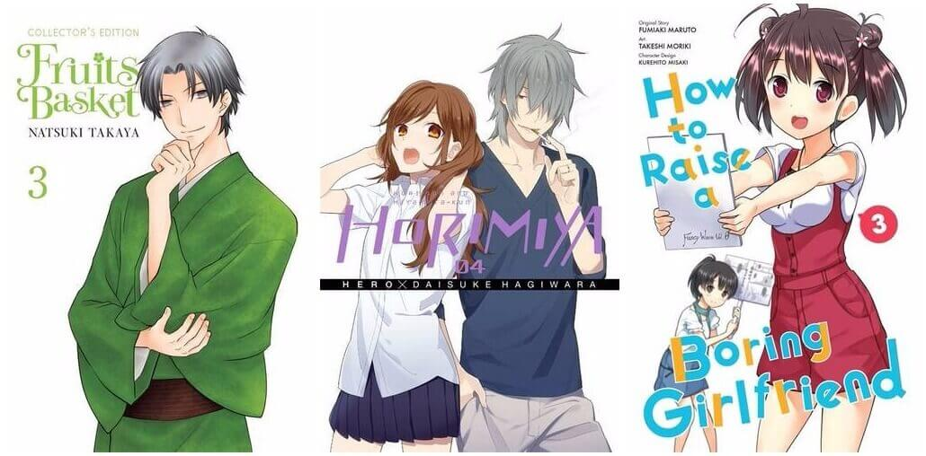July 2016 Manga Releases Fruits Basket Horimiya How To Raise A Boring Girlfriend Collectors Edition