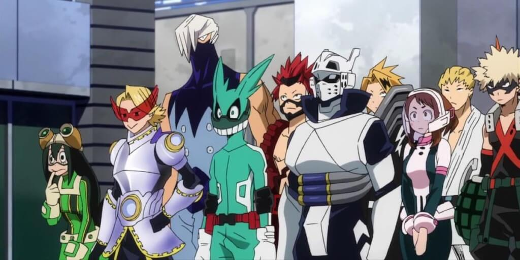 My Hero Academia Review: U.A Students
