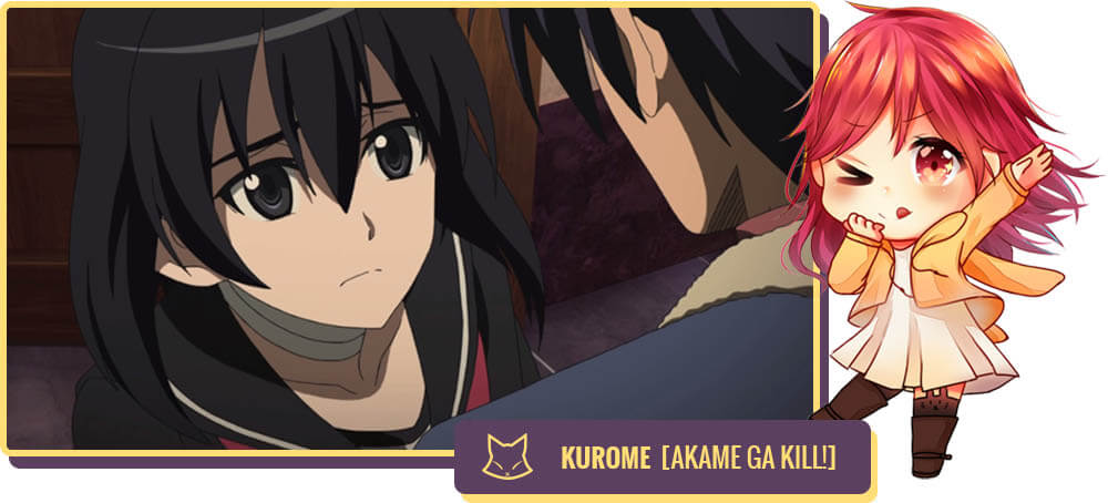 Julliet Simmons voiced Kurome in Akame ga KILL!
