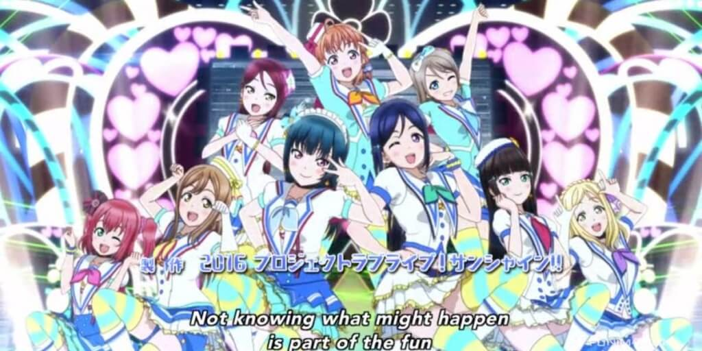 Love Live! Sunshine!! First Impressions (Episode 1: I Want to Shine