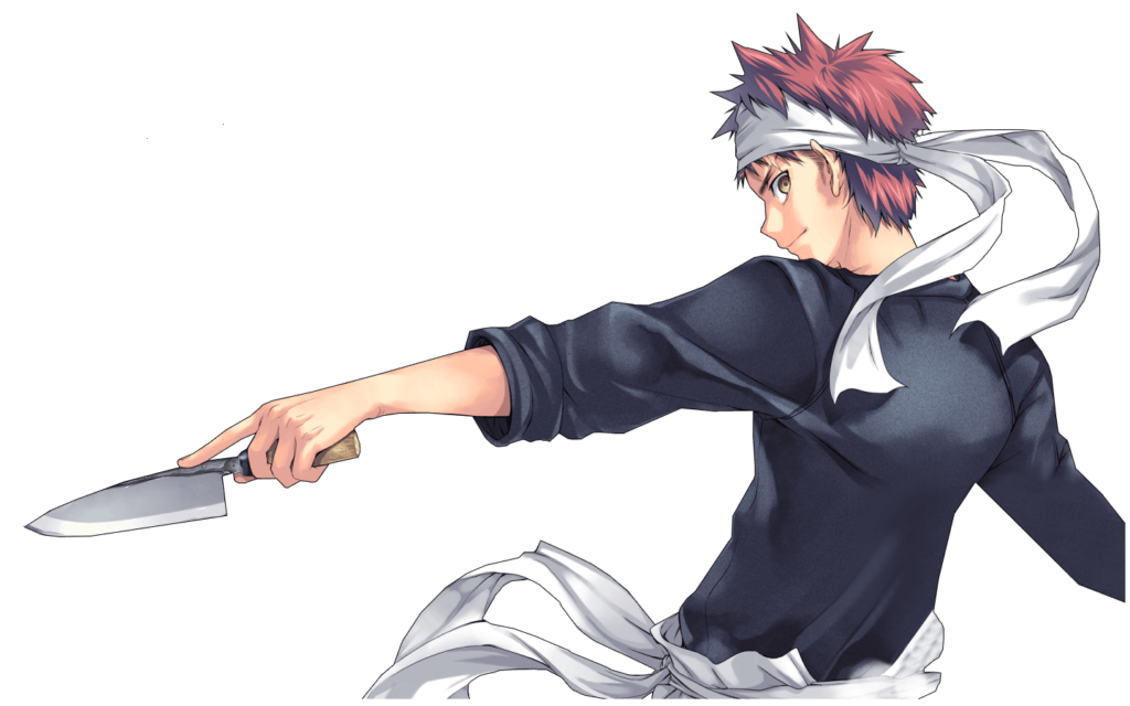 Soma Yukihira, main character of Shokugeki no Soma (Food Wars)