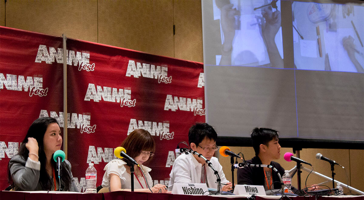 AnimeFest 2016 Animating My Hero Academia