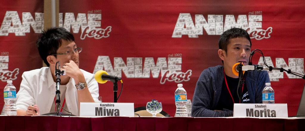 AnimeFest 2016 Tokyo Ghoul Panel: Miwa and Morita