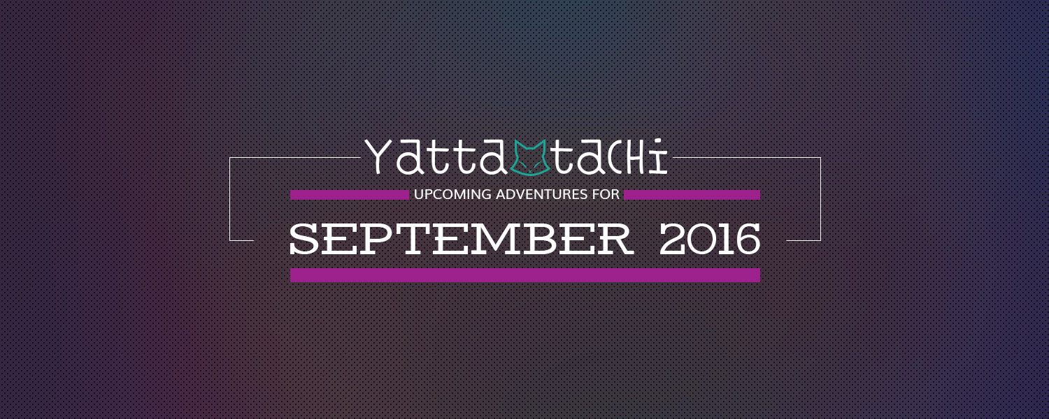 Exciting Site Announcements for September 2016!