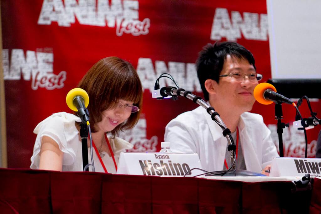 Ayana Nishino & Kazuhiro Miwa