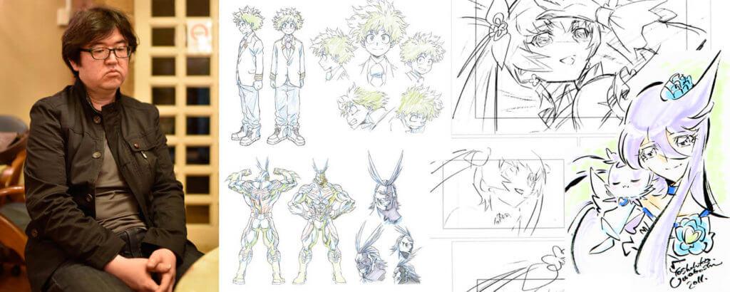 My Hero Academia's Character Designer, Chief Animation Director, Animation Director (OP) Umakoshi Yoshihiko