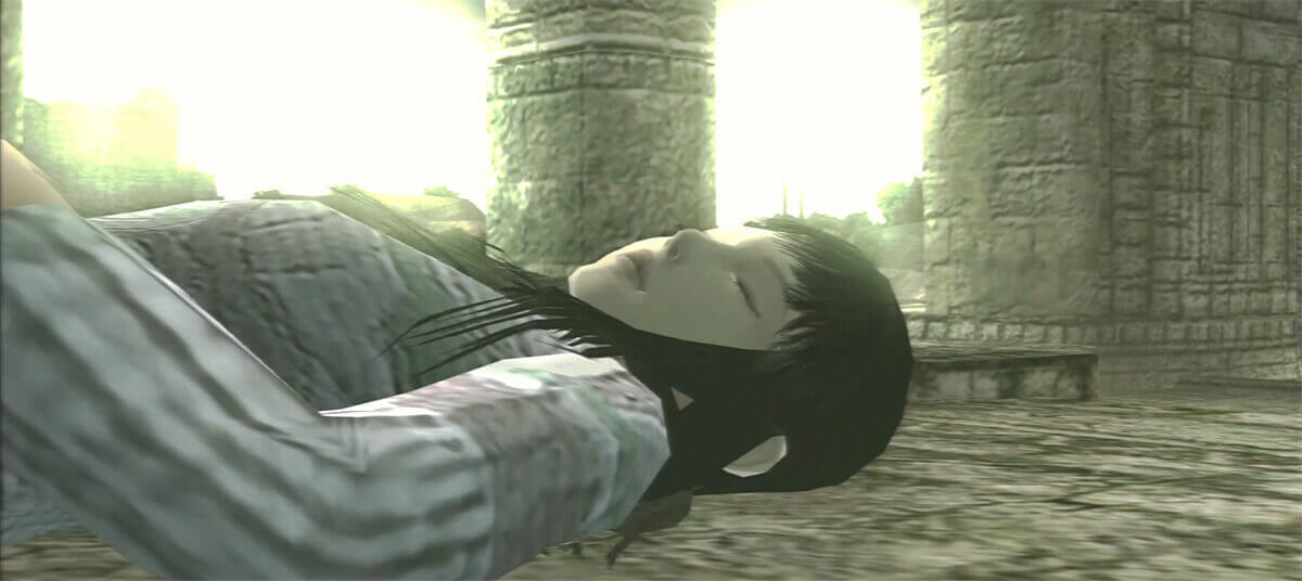 Lifeless Mono at the shrine