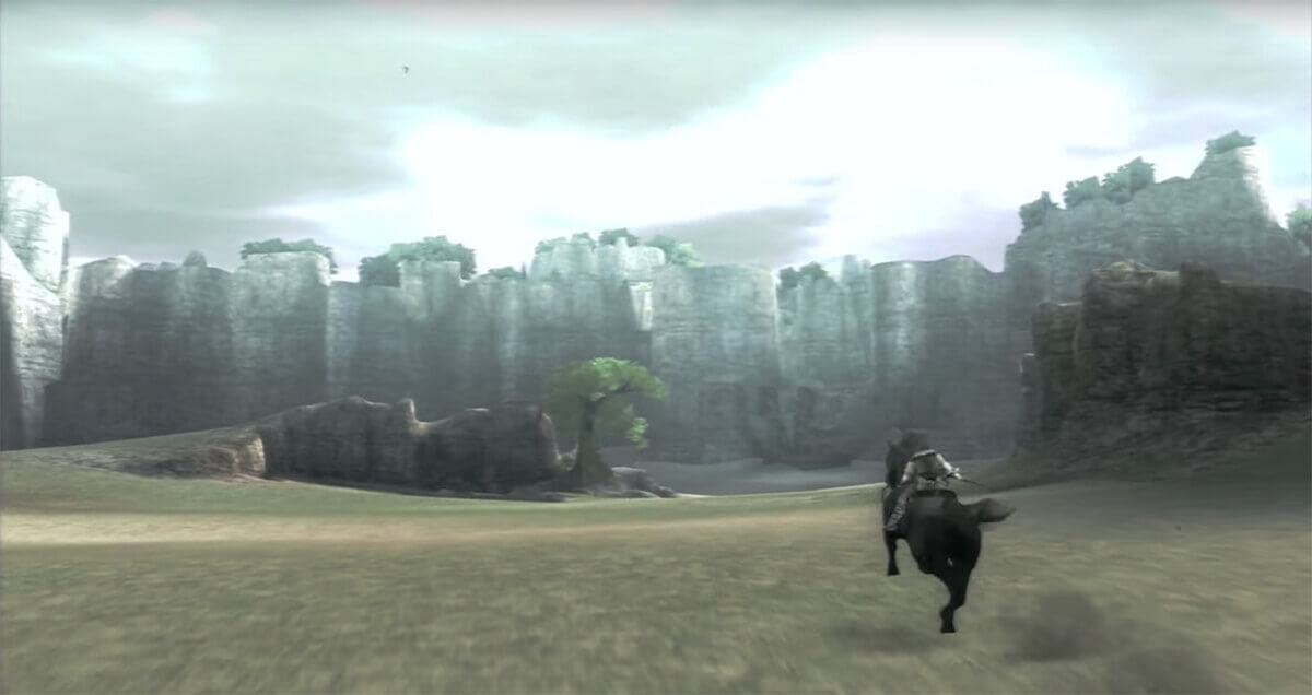 Shadow of the Colossus' breathtaking landscape