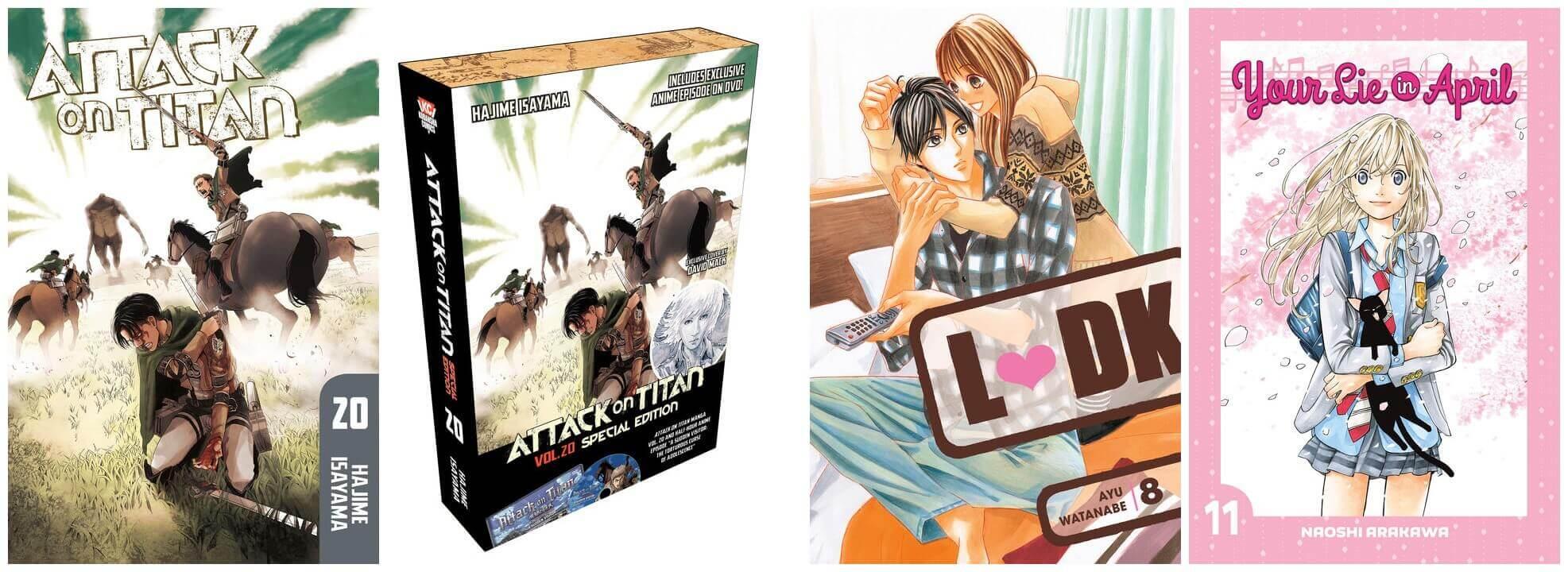 December 2016 Manga Releases