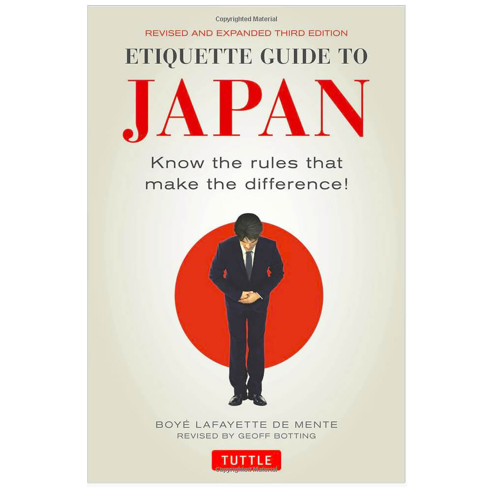 Ultimate Must-Haves - Etiquette Guide To Japan