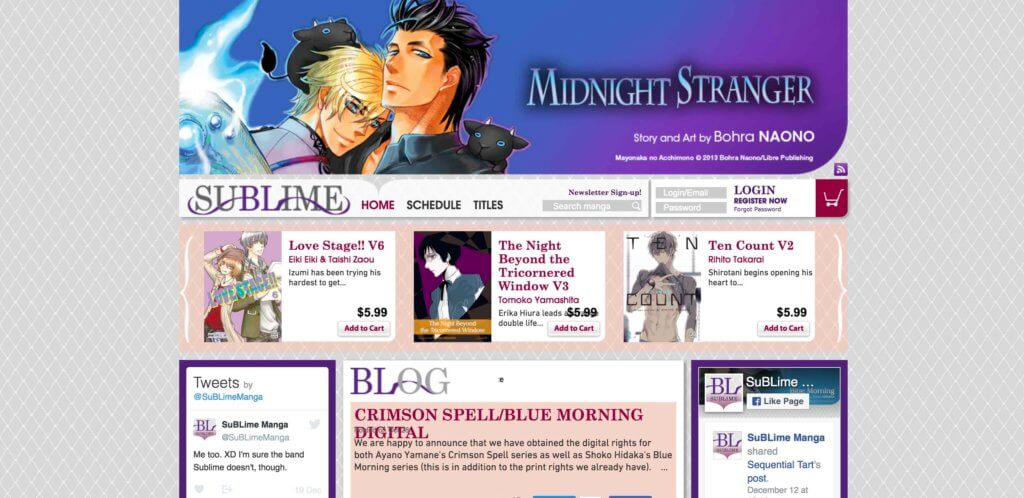 The Ultimate List of Legal Online Manga Sites - SuBLime