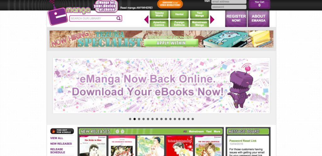 The Ultimate List of Legal Online Manga Sites - E-Manga
