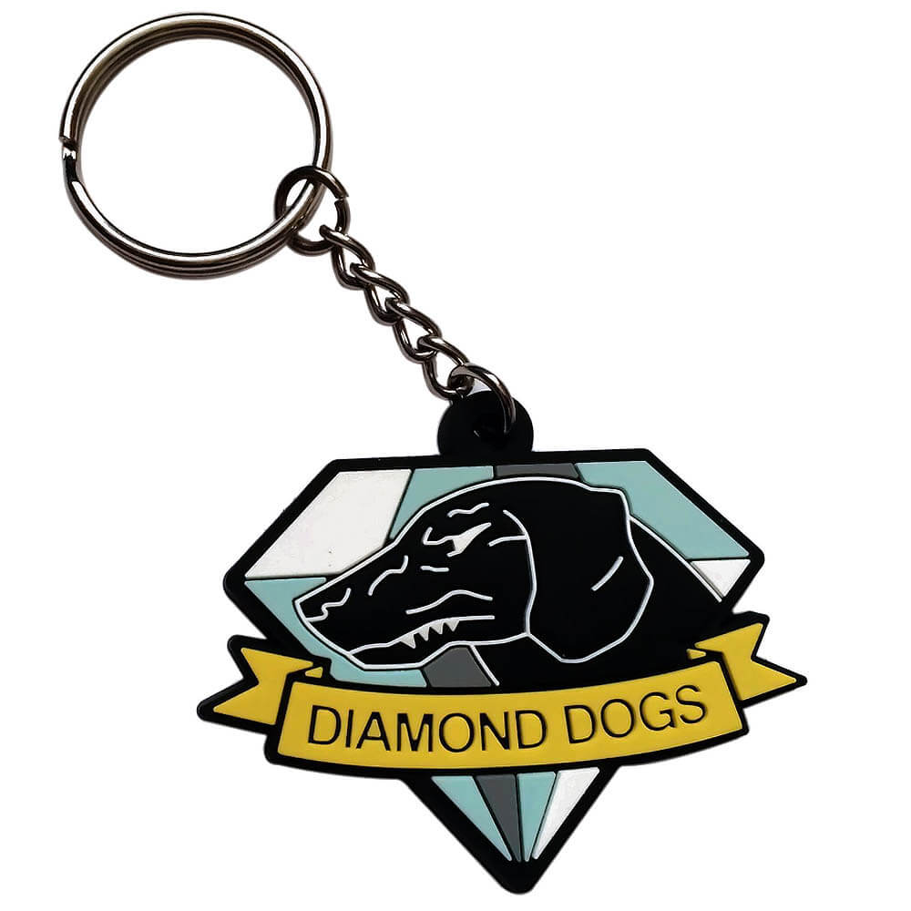 Metal Gear Solid Gift Guide - Metal Gear Solid Diamond Dogs Emblem Key Chain
