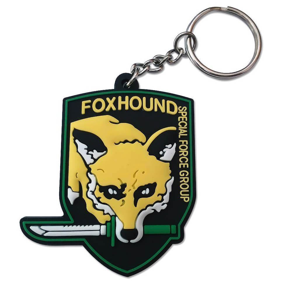 Metal Gear Solid Gift Guide - Metal Gear Solid Fox Hound Key Chain