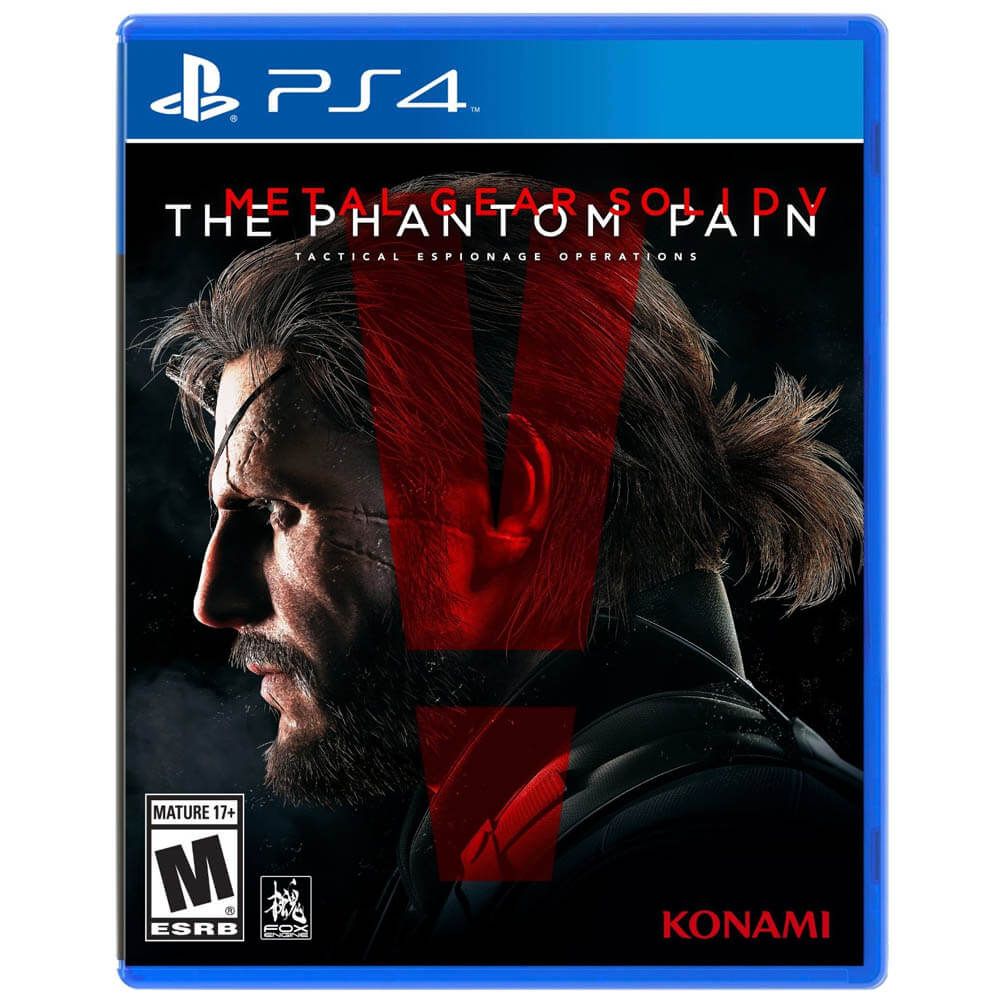 Metal Gear Solid Gift Guide - Metal Gear Solid V: The Phantom Pain – PS4
