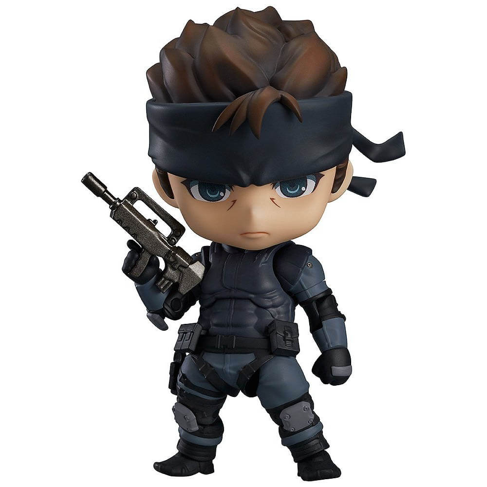 Metal Gear Solid Gift Guide - Good Smile Solid Snake Nendoroid