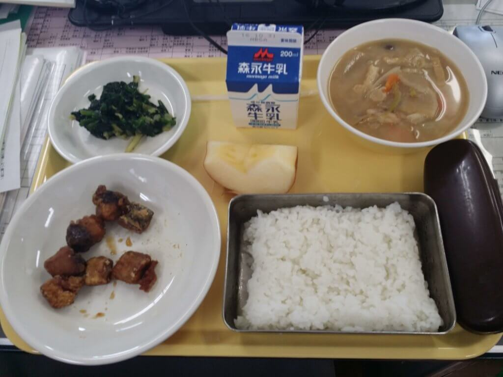 A Month of Japanese School Lunches