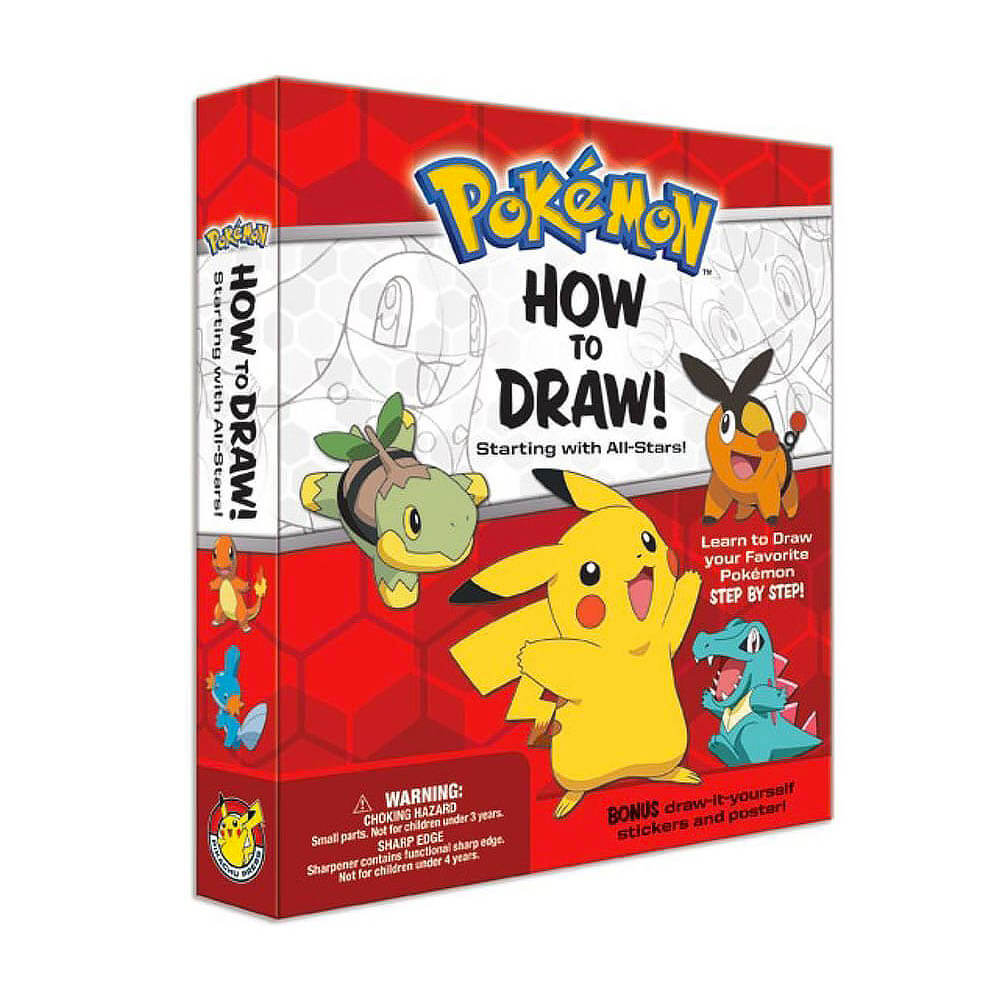 Yatta-Tachi Shops: Pokemon Gift Guide - How to Draw Pokemon Kit