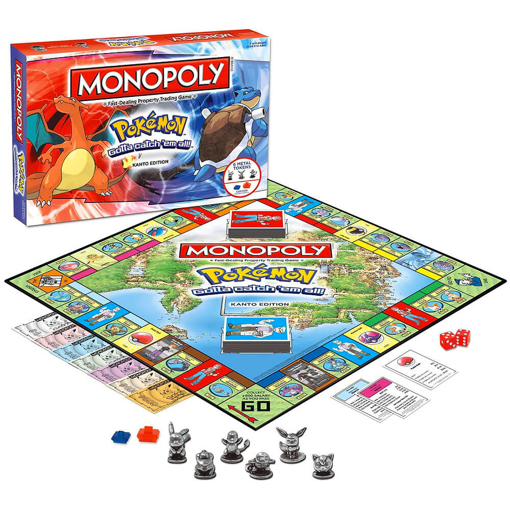 Yatta-Tachi Shops: Pokemon Gift Guide - Pokemon Monopoly