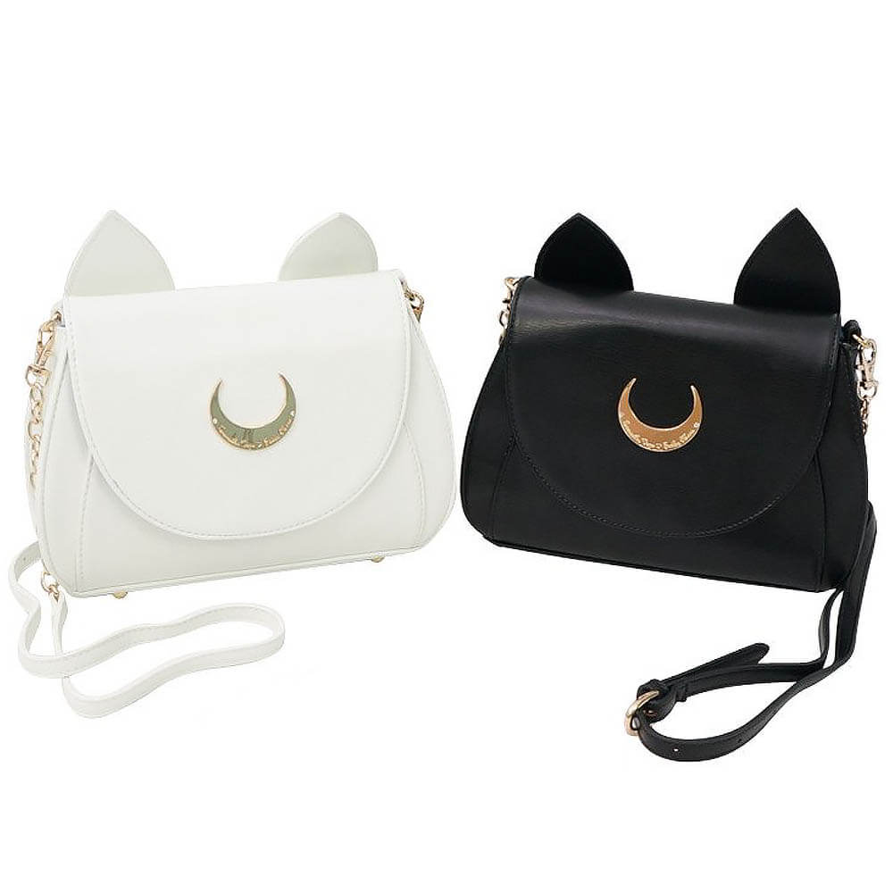 Sailor Moon Gift Guide - Luna/Artemis Purse