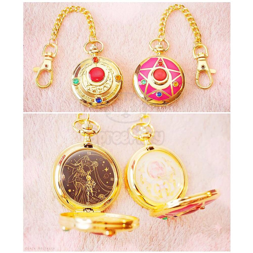 Sailor Moon Gift Guide - Sailor Moon Pocket Watch