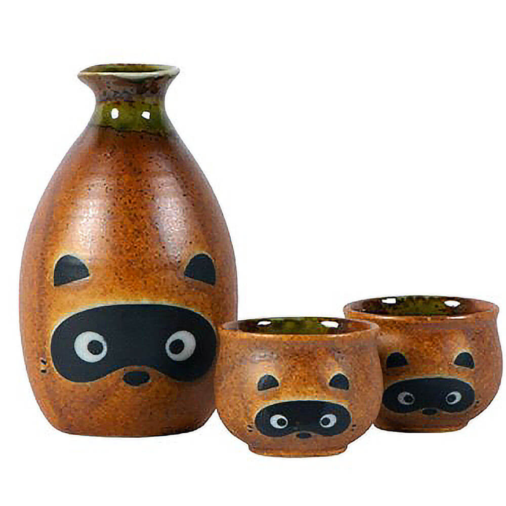 Ultimate Must-Haves - Tanuki Sake Set