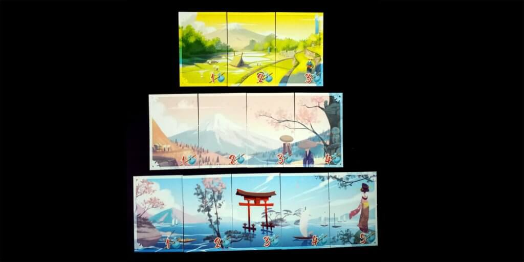 Tokaido Panorama Cards