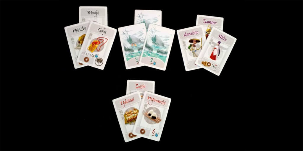 Tokaido Space Cards