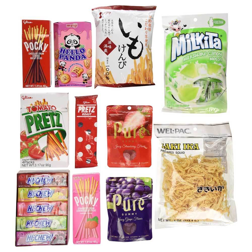 Stocking Stuffers Gift Guide - Japanese Snacks variety pack