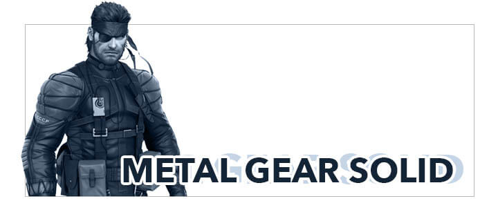 Yatta-Tachi's Metal Gear Solid Gift Guide