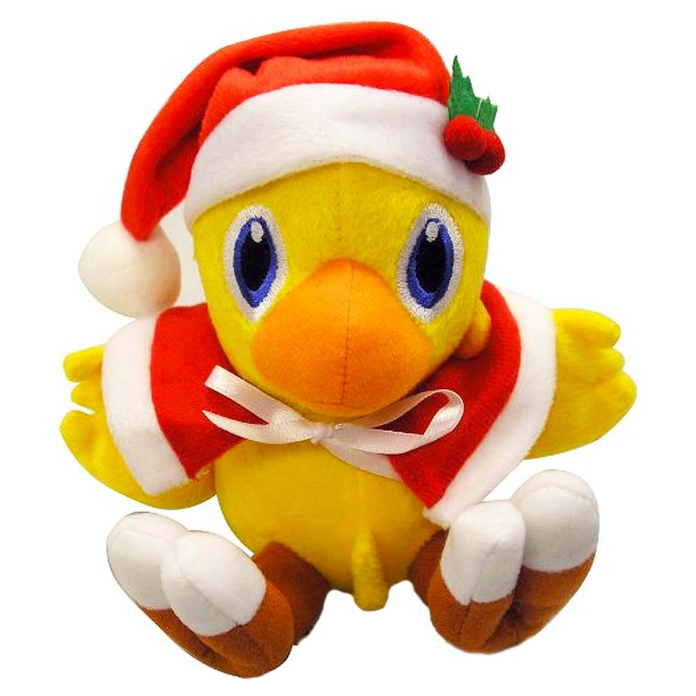 Plushies Gift Guide - Christmas Santa Chocobo