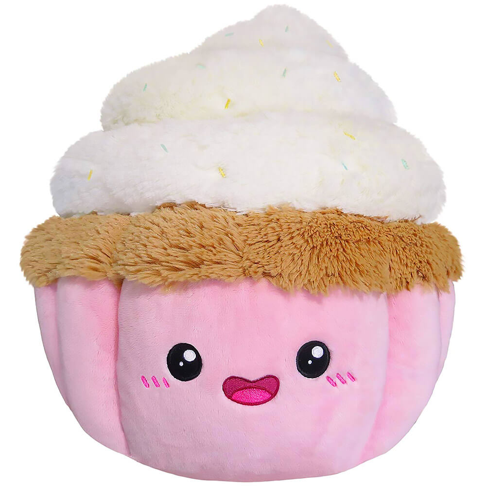 Squishable Vanilla Swirl Cupcake Plush