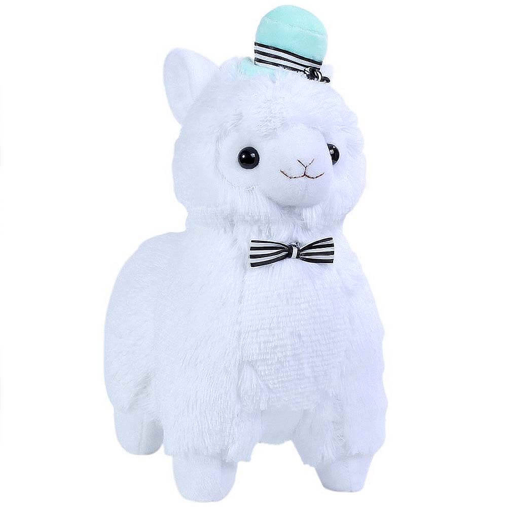 Plushies Gift Guide - Top Hat Alpaca