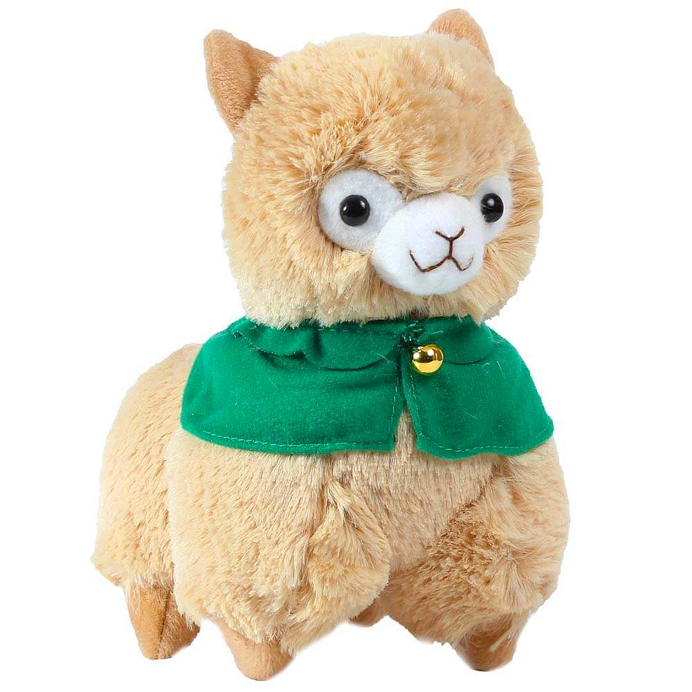 Plushies Gift Guide - Green-caped Alpaca