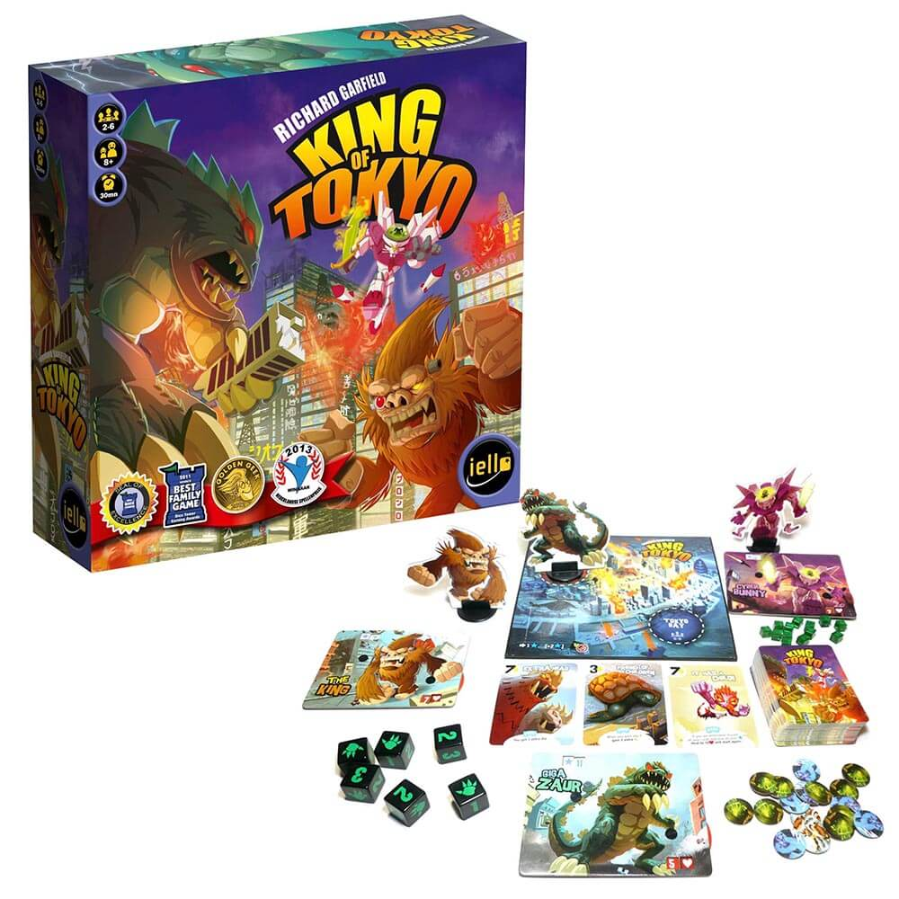 Asian Inspired Tabletop Games - King of Tokyo