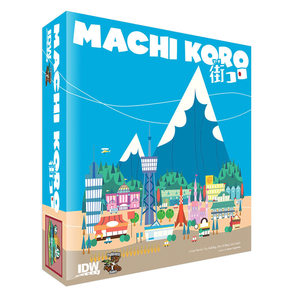 Asian Inspired Tabletop Games - Machi Koro