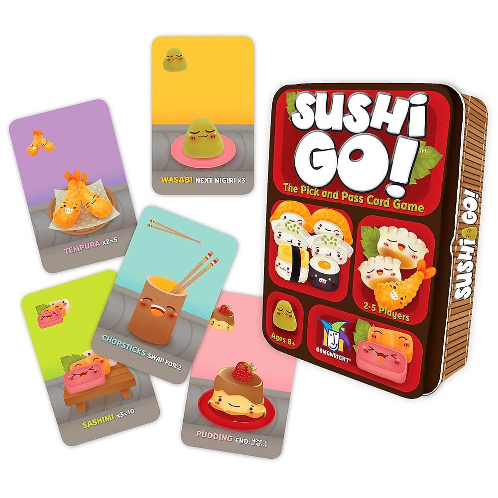 Asian Inspired Tabletop Games - Sushi Go!