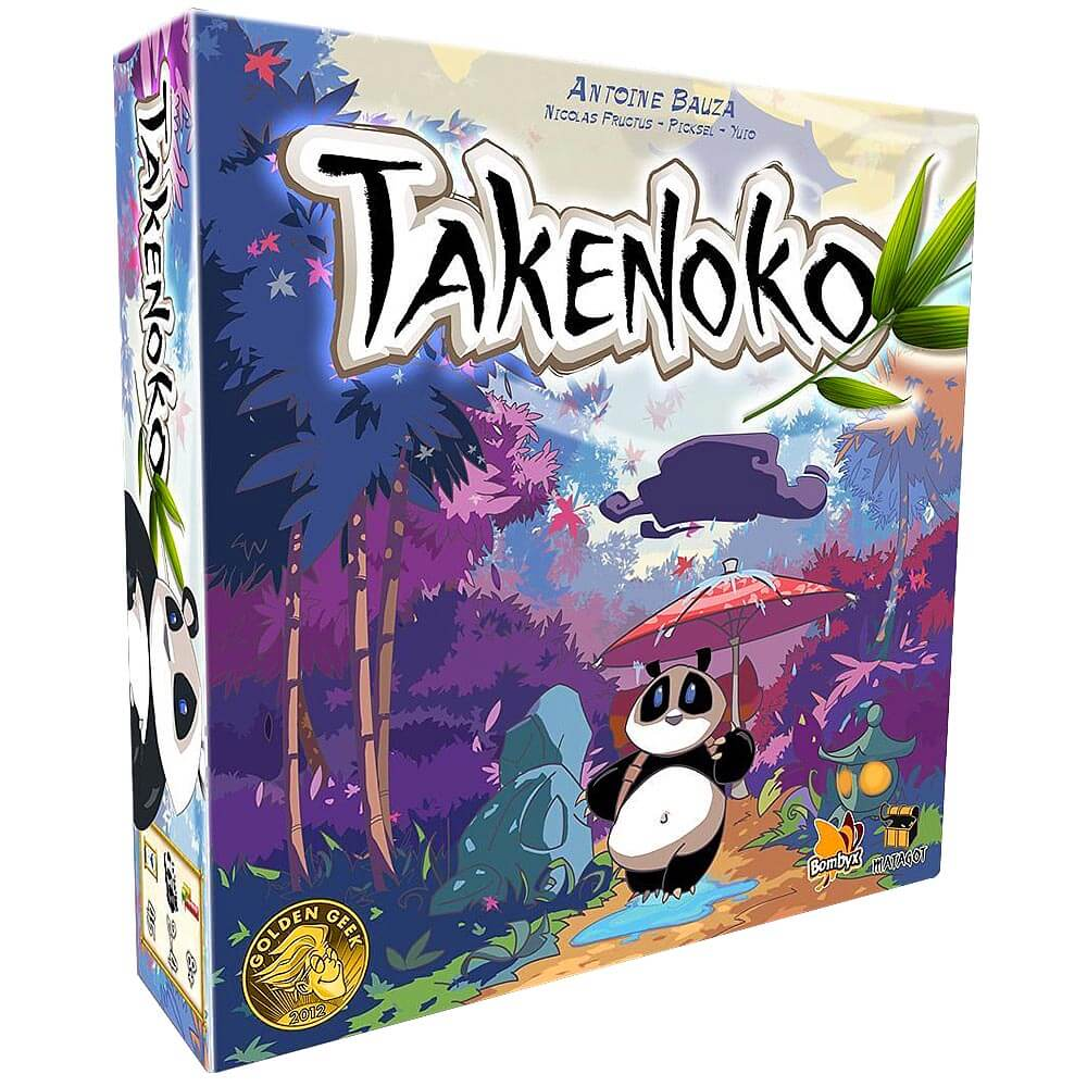 Asian Inspired Tabletop Games - Takenoko