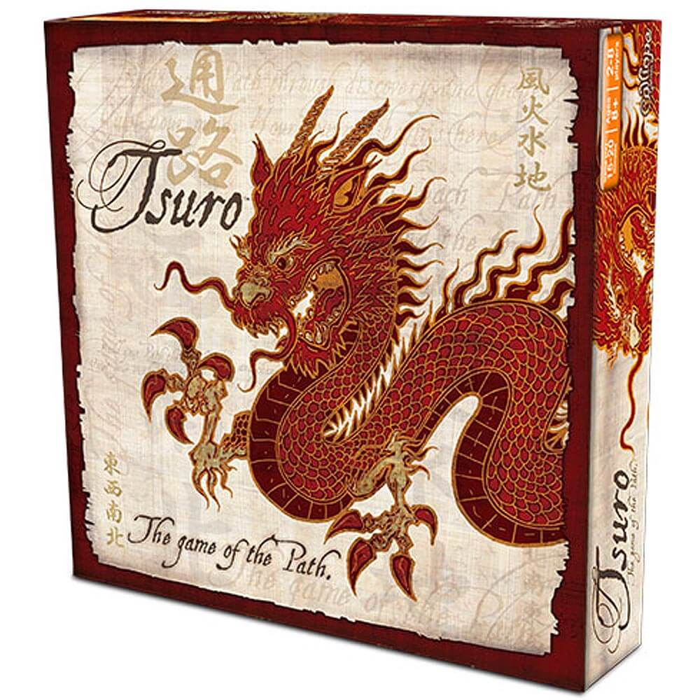 Asian Inspired Tabletop Games - Tsuro