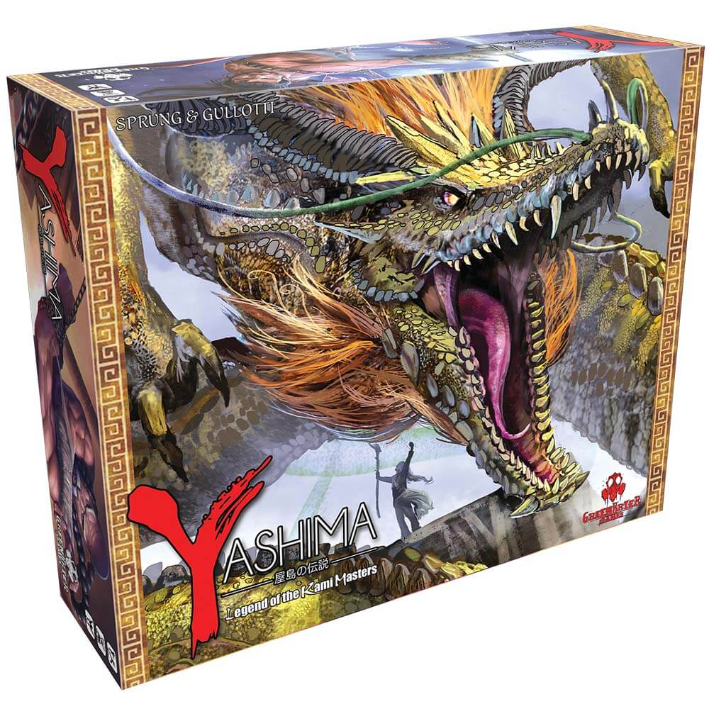 Asian Inspired Tabletop Games - Yashima