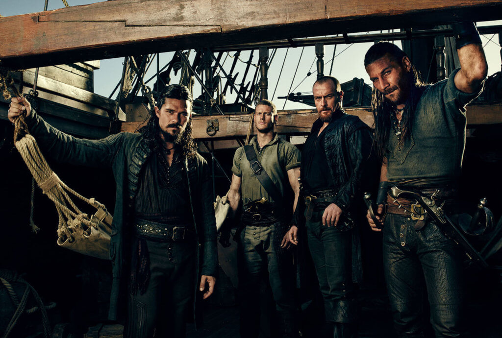 Out of the blue, 'Black Sails is having very good ratings on TV.