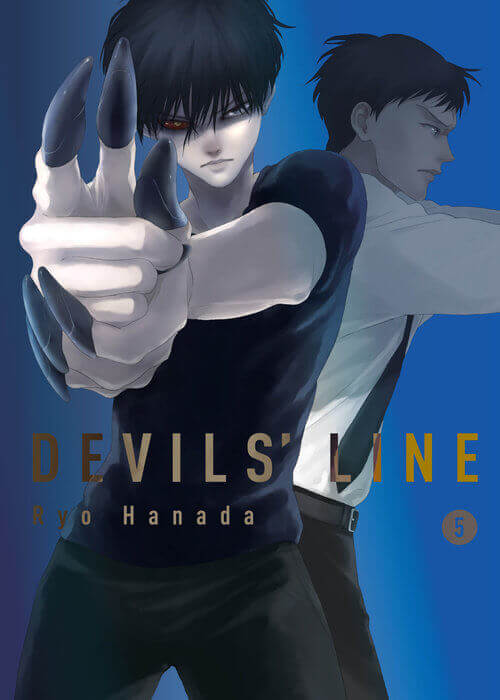 February 2017 Manga Releases Cover of Devils' Line.